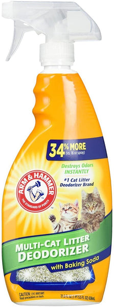 Arm and Hammer, Litter Deodorizing Spray 21.5oz