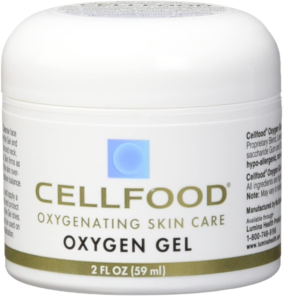 Cellfood, Skin Care Oxygen Gel 2oz