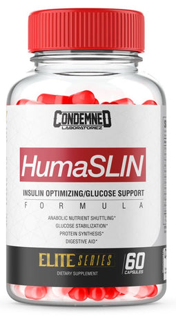Condemned Labz, HumaSLIN 60ct