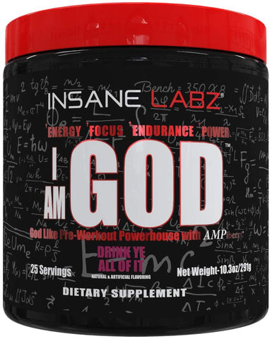 Insane Labz, I am God Drink Ye All of It 10.3oz