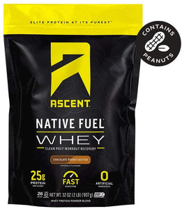 Ascent, Native Fuel Chocolate PB 2lbs