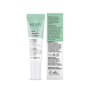 Acure, Ultra Hydrating Eye Cream .5oz