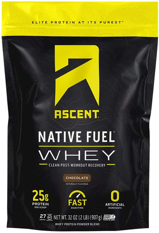 Ascent, Native Fuel Whey Chocolate 2lbs