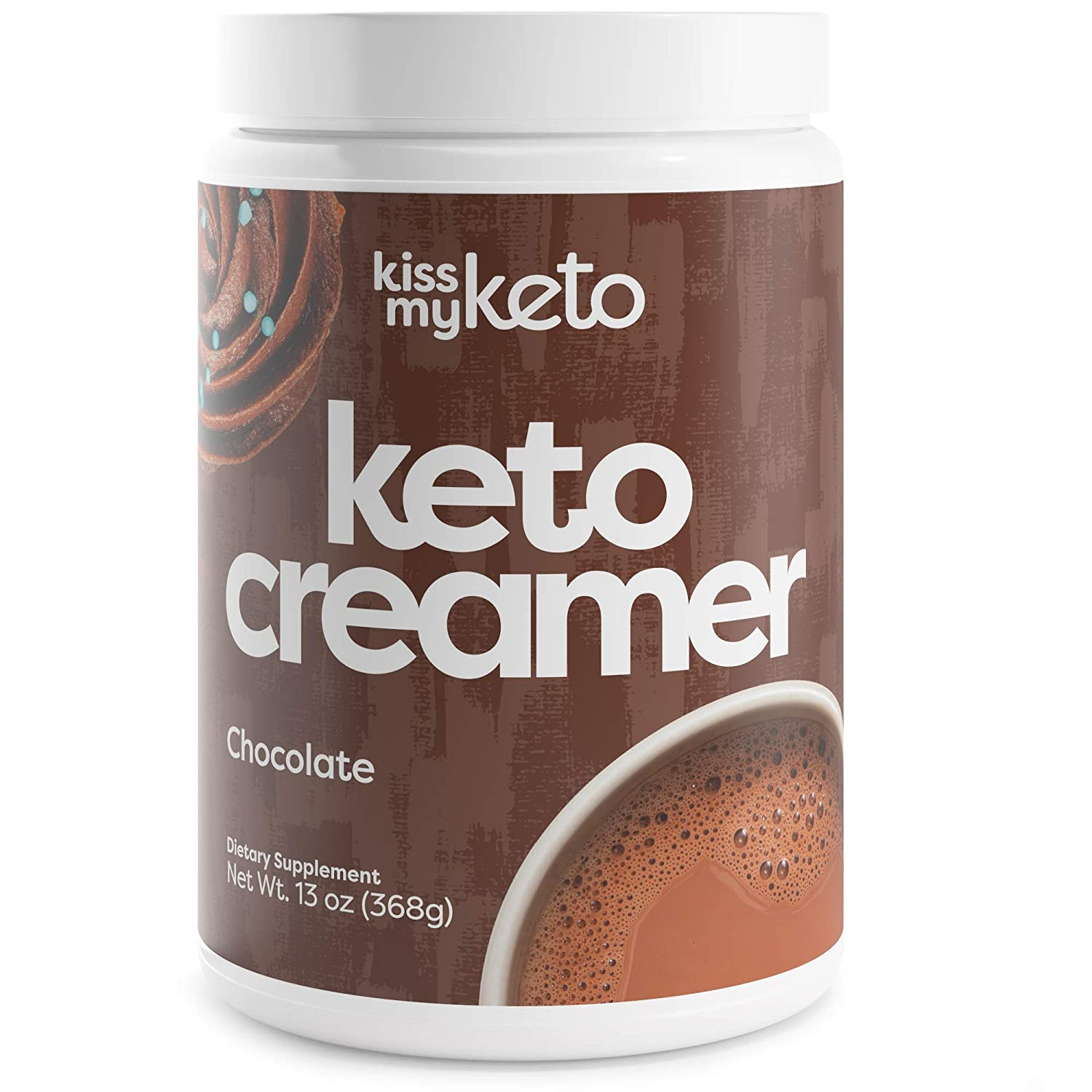 Kiss my Keto, Keto Creamer Chocolate 13oz