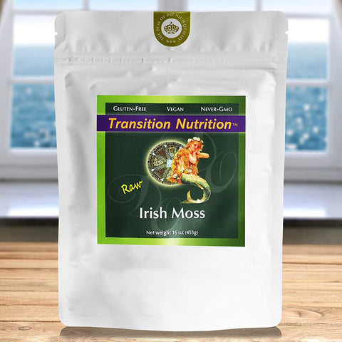 Divine Organics, Fresh Whole Leaf Irish Moss 16oz