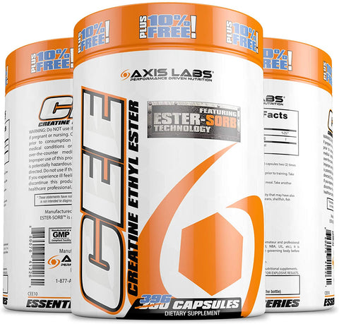 Axis Labs, Creatine Ethyl Ester 396ct