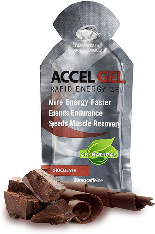 Pacific Health Labs, Accel Gel Chocolate 1.3oz 24ct