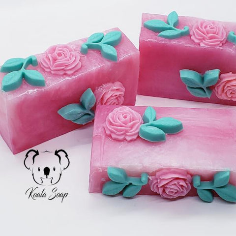 Blooming Roses Hand Made  Soap