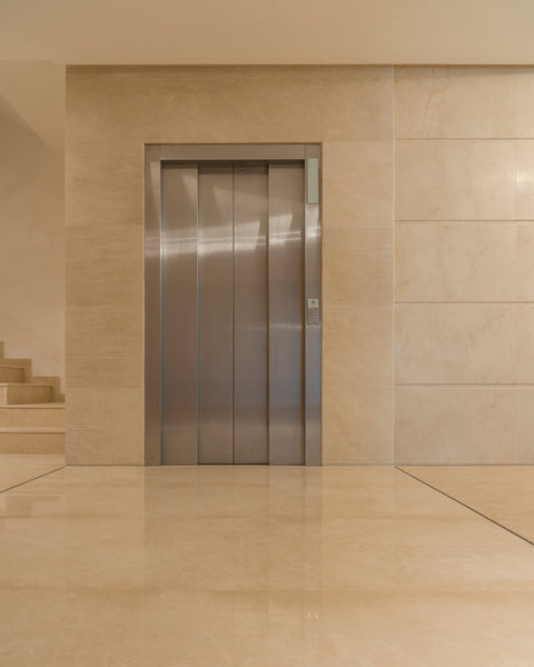 crema marfil lift view wall and floor cladding