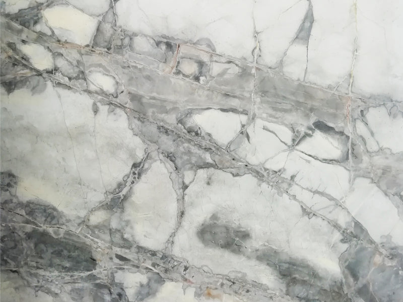 invisible grey marble slab