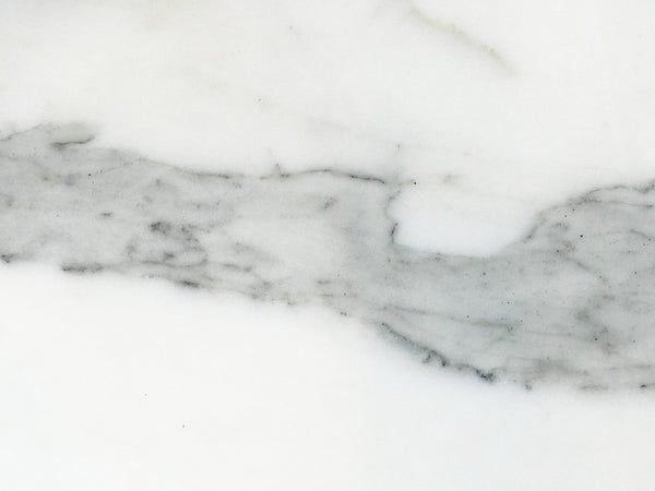 statuario super extra white marble close up