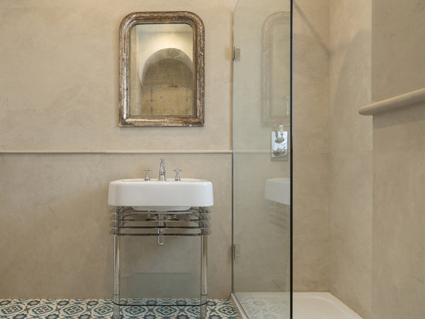 limestone persiano wall bathroom