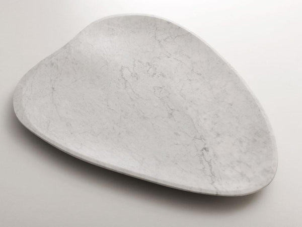 center plate bianco carrara