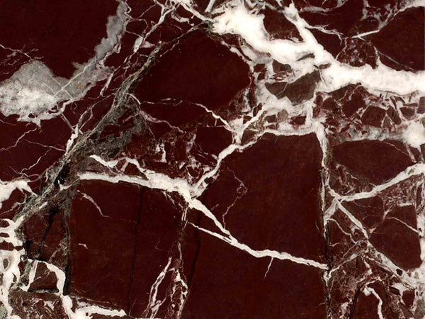 rosso levanto red marble close up
