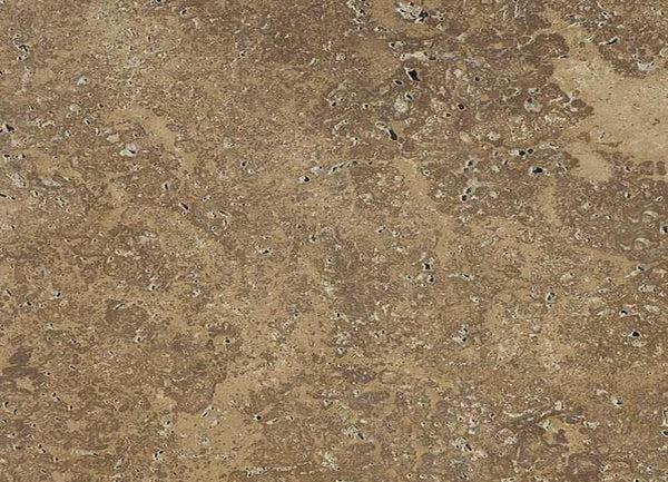 travertino noce natural stone walnut brown malta