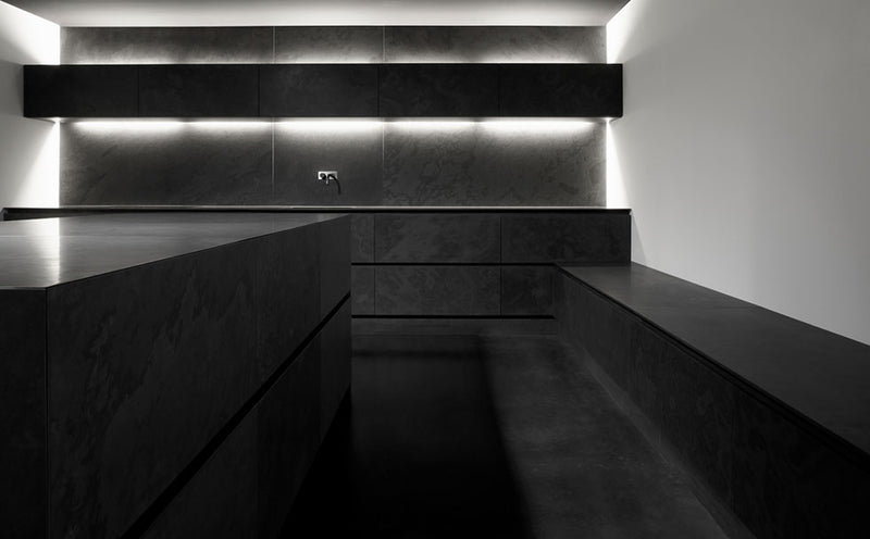 interior wall dark slate
