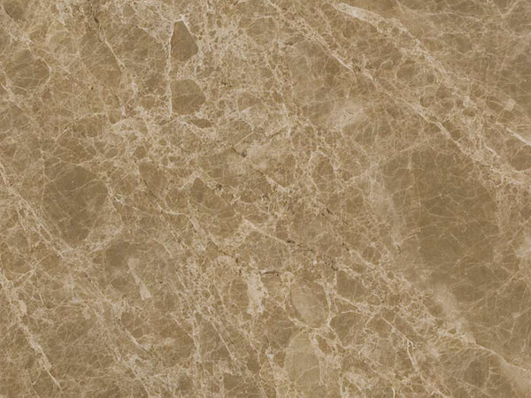 emperador light marble close up Spain natural stone Rlautier