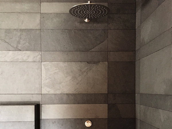 grey slate shower wall cladding malta natural stone