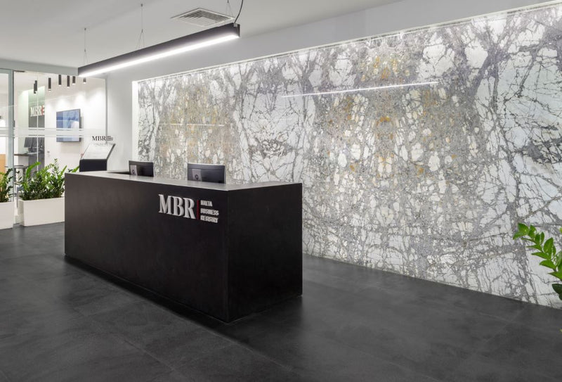 invisible grey marble wall cladding mbr malta