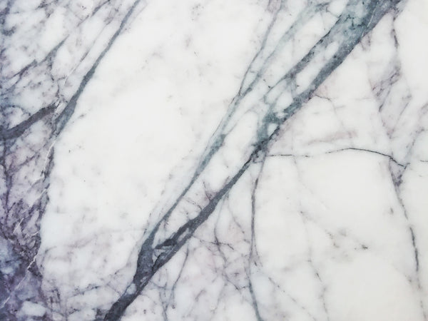 Lilac marble vein close up natural stone malta