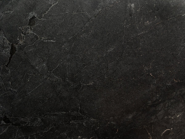 quartzite nera black dark counter natural stone kitchen countertop