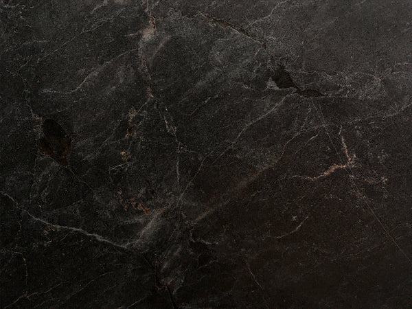 black quartzite nera natural stone kitchen countertop