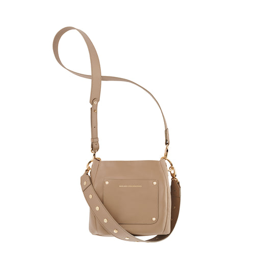 BUCKY BAG SMALL TAUPE