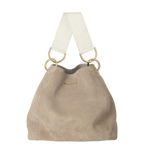 CARLY BAG Suede Sand