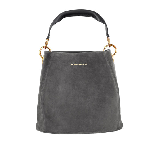 CARLY BAG SUEDE GRAU