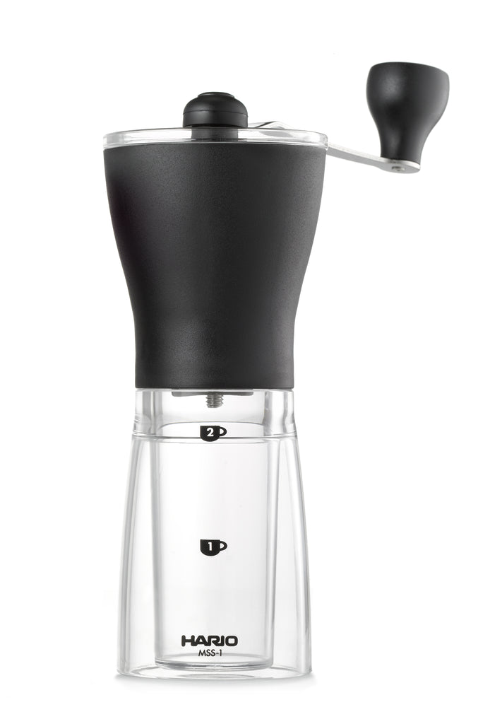Hario Ceramic Slim Coffee Mill-Sea Island Coffee