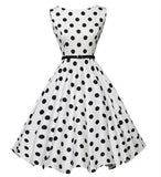 Retro Polka Dots Pinup Rockabilly Dress 1950s 60s - Camden Street