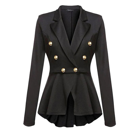 Gothic Casual Office Lady Blazer - Camden Street