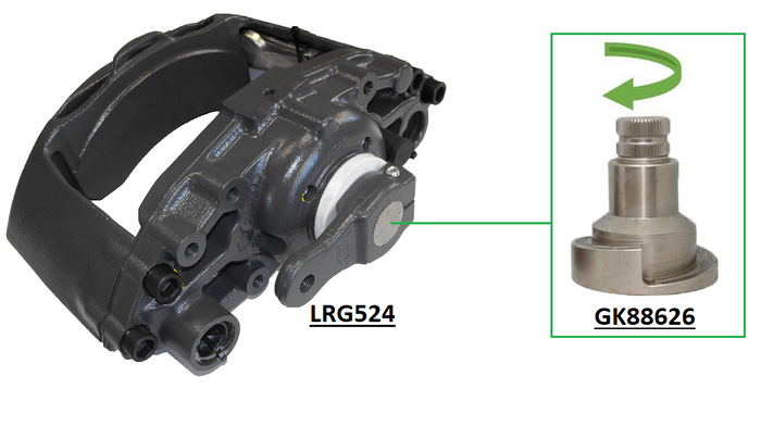 Arvin-Meritor brake calipers identification problems solved