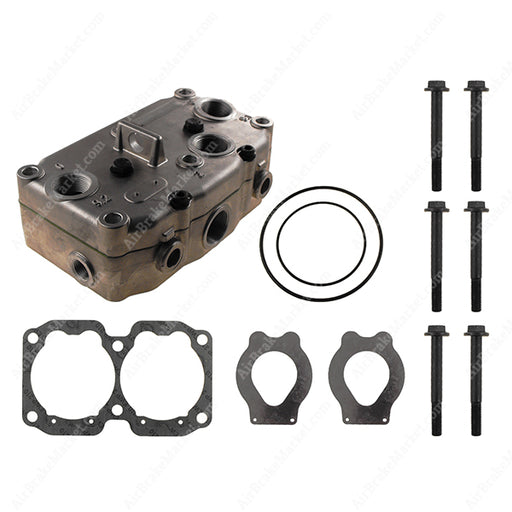 GK13410 Compressor Cylinder Head for 9115051500, 9115051510, 9115051530
