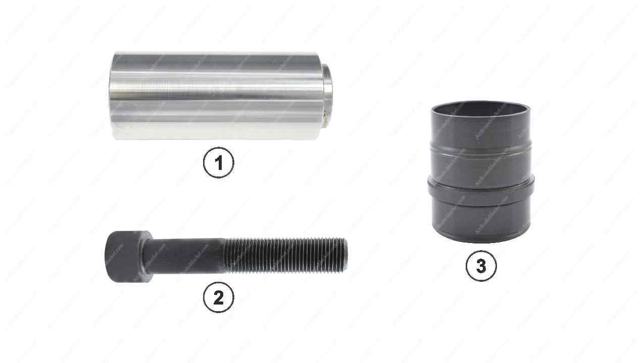 GK81004 Guide pin and bush kit SB5, SB6, SB7 Knorr-Bremse Caliper II368470064, II339830064, 1448910, CKSK.13.3B
