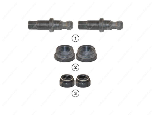 GK82600 Adjuster shaft kit MARK II, MARK III, MODUL X GEN 1, MODUL X GEN 2 Haldex Caliper 90693, CHSK.3.3