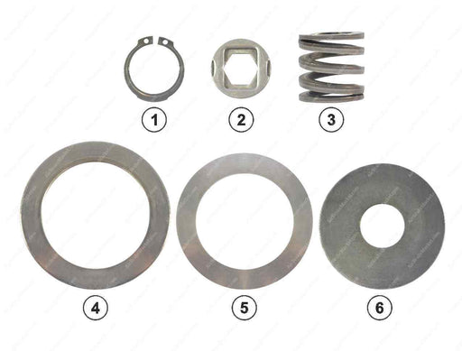 GK83601 Adjuster clutch kit PAN 17, PAN 19-1, PAN 22-1 Wabco Caliper CWSK.12.10