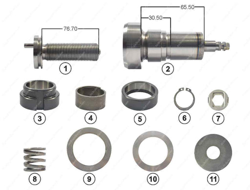 GK83602 Adjuster mechanism kit PAN 19-1, PAN 22-1 Wabco Caliper