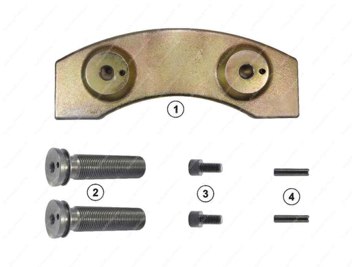 GK88516 Push plate and calibration bolt kit (left) DX195 Meritor Caliper CMSK.9.1