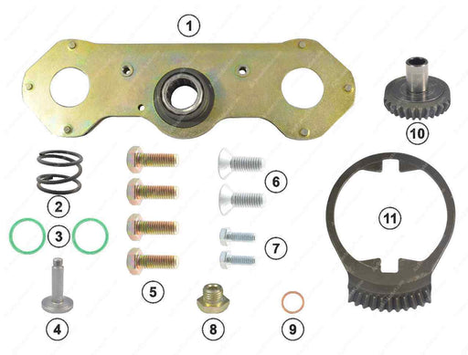 GK88609 Adjuster mechanism kit (left) DX195 Meritor Caliper MCK1290, CMSK.2.M
