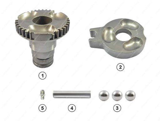 GK88623 Operating shaft kit (left) C LISA, D LISA Meritor Caliper MCK1151, MCK1021, 85104827, CMSK.11.V