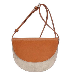 Canvas crossbody