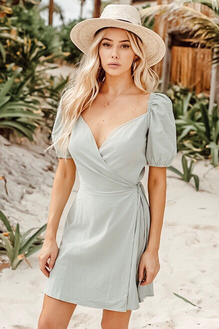 Ariella wrap dress
