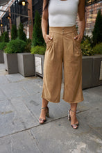 Suede-in my way downtown Culottes
