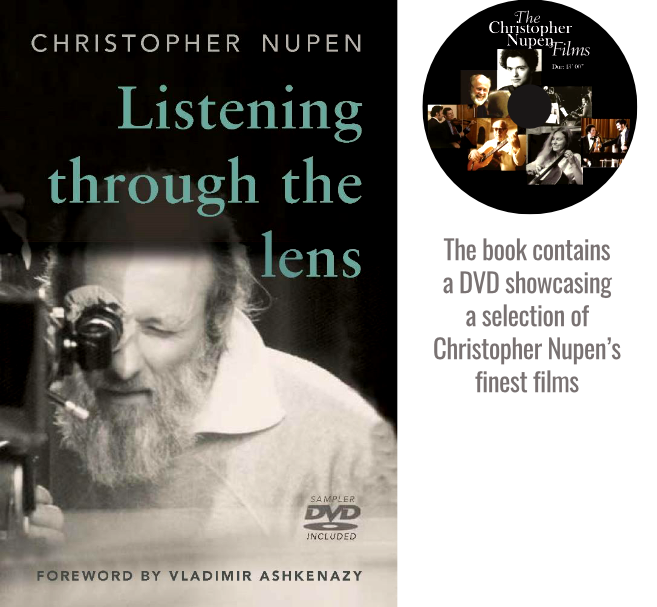 Listening through the lens | by Christopher Nupen (Author) | Vladimir Ashkenazy (Foreword)