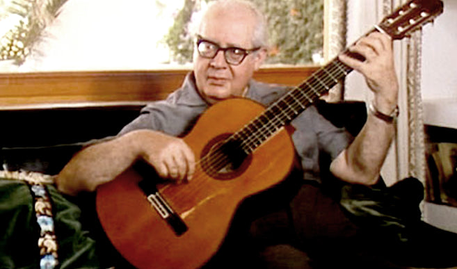 ANDRÉS SEGOVIA | At Los Olivos | The Song of the Guitar