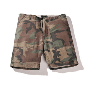 HEYGUYS 2018 Hot Sale Men's Summer Fashion camouflage Shorts Casual Waist Trousers Shorts Student beach street wear