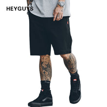 HEYGUYS 2018 Hot Sale Men's Summer Fashion Shorts Casual Elastic Waist Trousers Shorts pure color green color black hip hop
