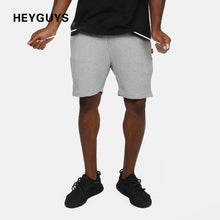 HEYGUYS 2018 Hot Sale Men's Summer Fashion sweat Shorts Casual Elastic Waist  Shorts men high quality street wear hip hop