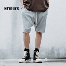 HEYGUYS 2018 Hot Sale Men's Summer Fashion sweat Shorts Casual Joggers Elastic Waist Trousers Sweat atpants Shorts pure